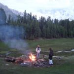 Evening at Fairy Meadows