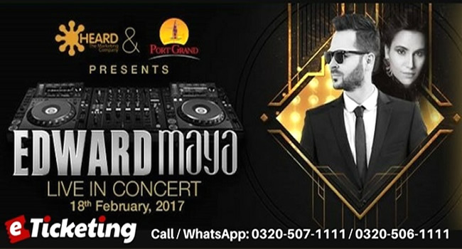 EDWARD MAYA COMING TO HYPNOTIZE KARACHIITES IN DANCE FEEL