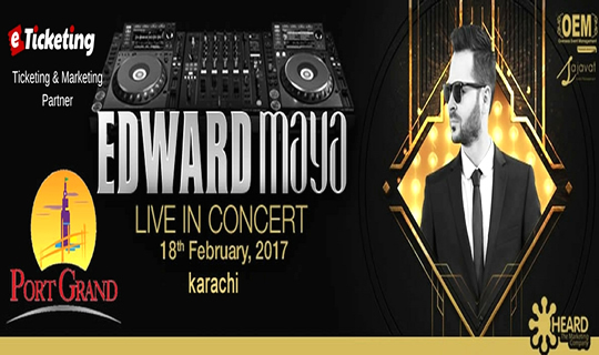 Edward Maya in Karachi - Port Grand