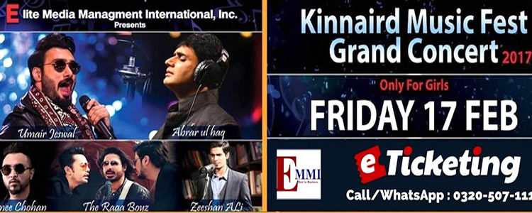 RAGA BOYZ TO PERFORM IN KINNAIRD MUSIC FEST