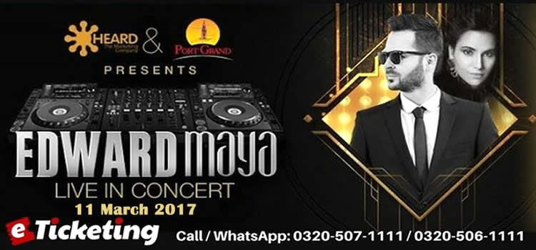 EDWARD MAYA TO CAST SPELLS OF MUSIC ON KARACHIITES