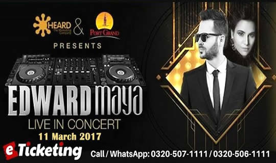 Edward Maya Live in Karachi - Port Grand